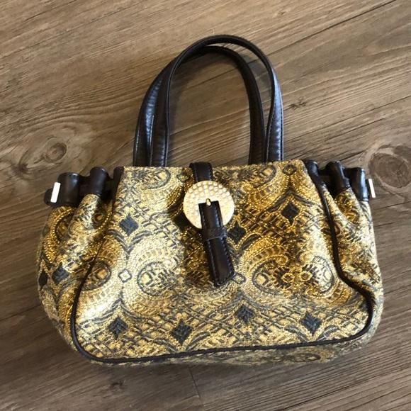 Donald J. Pliner Handbags - Donald J Pliner Baroque Jacquard Tapestry Bag
